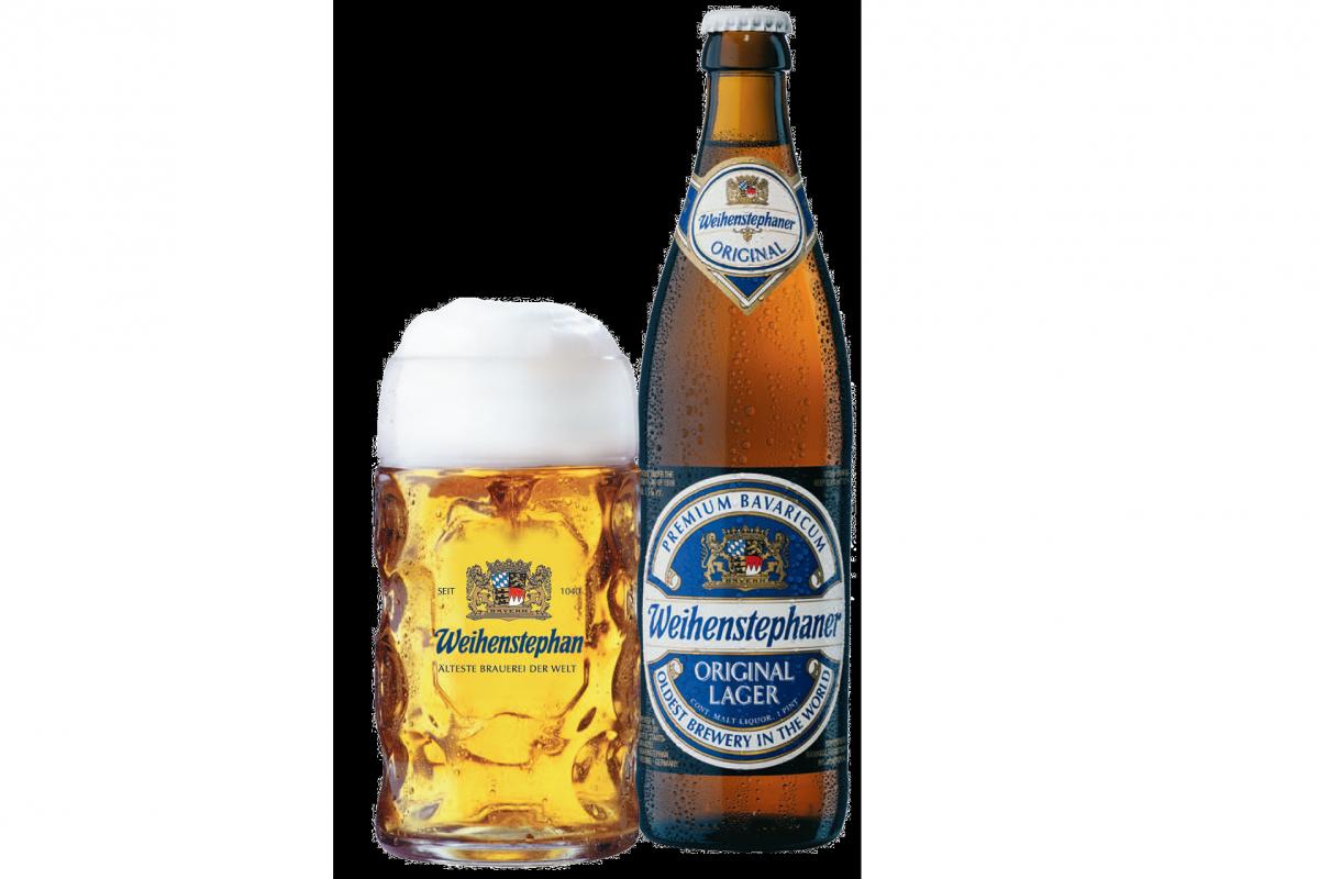 пиво Weihenstephan Original