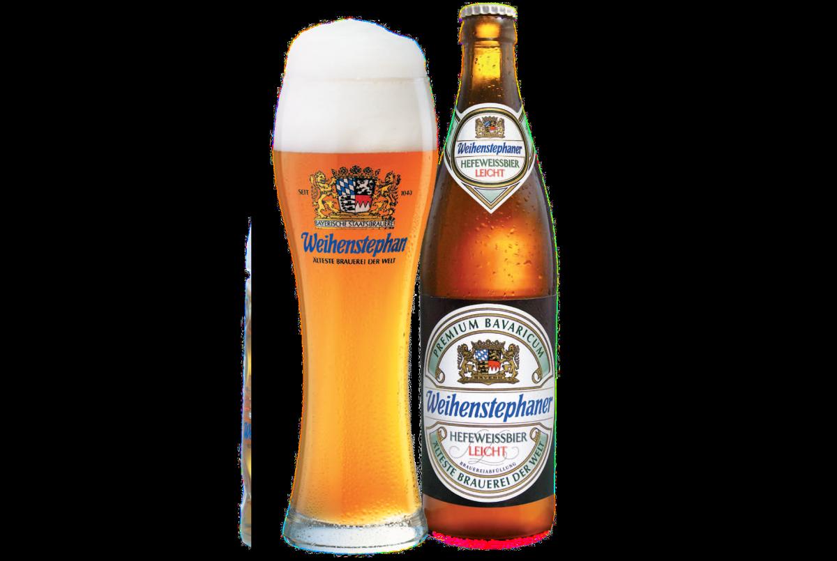пиво Weihenstephaner Hefeweissbier Leicht