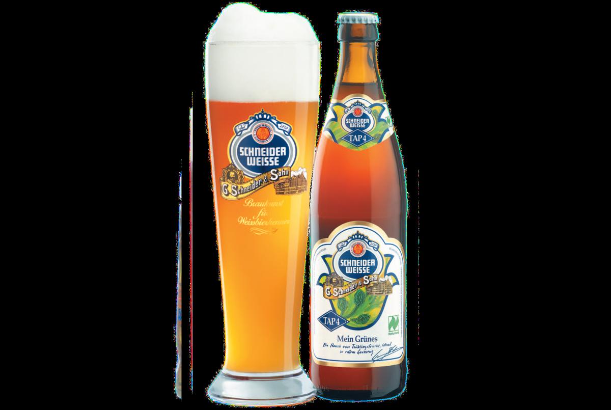 пиво Schneider Mein Grunes